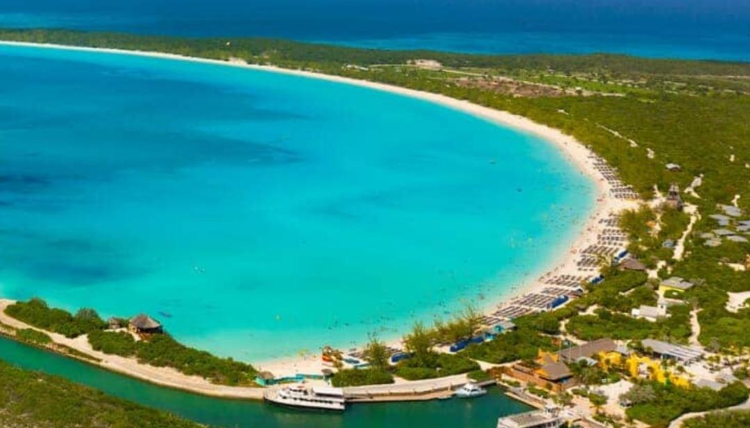 Half Moon Bay Cay, the Bahamas reserved for Carnival cruises